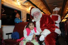 """Ring The Bell"" Polar Express Visit for Phoenix Children's Hospital Patients"