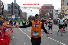 National High Five Day for the victims of the Boston Marathon bombings