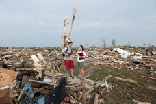 Carlos Caudillo tornado relief effort